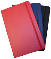 Lined Faux Leather Notebooks
