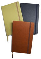 Pocket journals with ruled paper