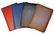 Stitched classic leather lined journals