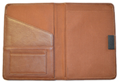 British Tan Stitched Leather Journal Interior